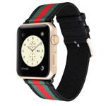 Ремешок для часов Synapse Nylon Leather для Apple Watch (38 мм, черный, нейлоновый)