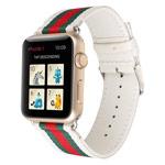 Ремешок для часов Synapse Nylon Leather для Apple Watch (38 мм, белый, нейлоновый)
