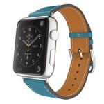 Ремешок для часов Kakapi Single Tour Band для Apple Watch (38 мм, голубой, кожаный)