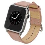 Ремешок для часов Kakapi Single Tour Band для Apple Watch (38 мм, розовый, кожаный)