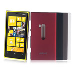 Чехол Jekod Hard case для Nokia Lumia 920 (черный, пластиковый)