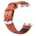 Ремешок для часов Kakapi Buffalo Leather Band для Apple Watch (38 мм, коричневый, кожаный)