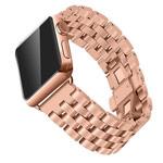 Ремешок для часов Synapse Metal Bracelet для Apple Watch (38 мм, розово-золотистый, стальной)