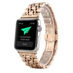 Ремешок для часов Synapse Metal Link Bracelet для Apple Watch (38 мм, розово-золотистый, стальной)
