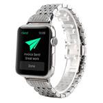 Ремешок для часов Synapse Metal Crystal Bracelet для Apple Watch (38 мм, серебристый, стальной)