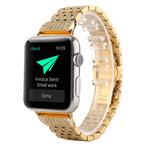 Ремешок для часов Synapse Metal Crystal Bracelet для Apple Watch (38 мм, золотистый, стальной)