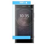 Защитная пленка Yotrix 3D Glass Protector для Sony Xperia XA2 ultra (стеклянная, голубая)