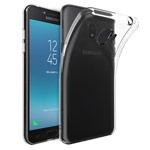 Чехол Yotrix UltrathinCase для Samsung Galaxy J2 pro 2018 (прозрачный, гелевый)