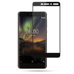 Защитная пленка Yotrix 3D Glass Protector для Nokia 6 2018 (стеклянная, черная)