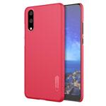 Чехол Nillkin Hard case для Huawei P20 (красный, пластиковый)