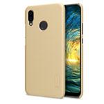 Чехол Nillkin Hard case для Huawei P20 lite (золотистый, пластиковый)