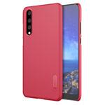 Чехол Nillkin Hard case для Huawei P20 pro (красный, пластиковый)