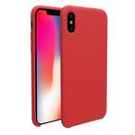 Чехол Nillkin Flex Pure case для Apple iPhone X (красный, гелевый)