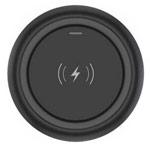Беспроводное зарядное устройство Devia Allen Wireless Charger (черное, стандарт QI)