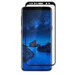 Защитная пленка Devia 3D Curved Tempered Glass для Samsung Galaxy S9 plus (стеклянная, черная)
