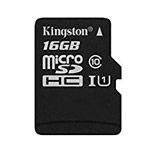 Флеш-карта Kingston microSD (16Gb, microSD, Class 10 U1)