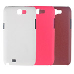 Чехол Jekod Leather Shield case для Samsung Galaxy Note 2 N7100 (коричневый, кожанный)