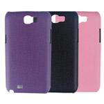 Чехол Jekod Leather Shield case для Samsung Galaxy Note 2 N7100 (фиолетовый, кожанный)