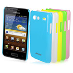Чехол Jekod Shine case для Samsung Galaxy S Advance i9070 (зеленый, пластиковый)