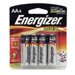 Комплект батареек Energizer MAX (AA, 4 шт., Alkaline)