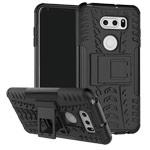 Чехол Yotrix Shockproof case для LG V30 (черный, пластиковый)