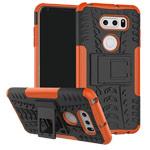 Чехол Yotrix Shockproof case для LG V30 (оранжевый, пластиковый)