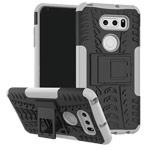 Чехол Yotrix Shockproof case для LG V30 (белый, пластиковый)