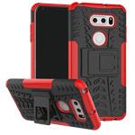 Чехол Yotrix Shockproof case для LG V30 (красный, пластиковый)