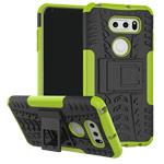 Чехол Yotrix Shockproof case для LG V30 (зеленый, пластиковый)