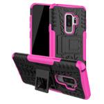 Чехол Yotrix Shockproof case для Samsung Galaxy S9 plus (розовый, пластиковый)