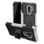 Чехол Yotrix Shockproof case для Samsung Galaxy S9 plus (белый, пластиковый)