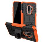 Чехол Yotrix Shockproof case для Samsung Galaxy S9 plus (оранжевый, пластиковый)