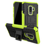 Чехол Yotrix Shockproof case для Samsung Galaxy S9 plus (зеленый, пластиковый)