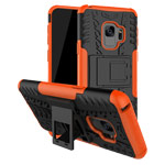 Чехол Yotrix Shockproof case для Samsung Galaxy S9 (оранжевый, пластиковый)