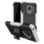 Чехол Yotrix Shockproof case для Samsung Galaxy S9 (белый, пластиковый)