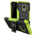 Чехол Yotrix Shockproof case для Samsung Galaxy S9 (зеленый, пластиковый)