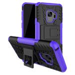 Чехол Yotrix Shockproof case для Samsung Galaxy S9 (фиолетовый, пластиковый)