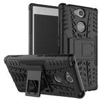 Чехол Yotrix Shockproof case для Sony Xperia XA2 (черный, пластиковый)
