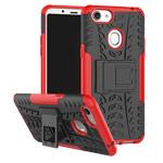 Чехол Yotrix Shockproof case для OPPO F5 (красный, пластиковый)