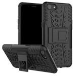 Чехол Yotrix Shockproof case для OPPO A83 (черный, пластиковый)