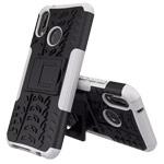 Чехол Yotrix Shockproof case для Huawei P20 lite (белый, пластиковый)
