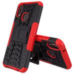 Чехол Yotrix Shockproof case для Huawei P20 lite (красный, пластиковый)