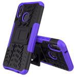 Чехол Yotrix Shockproof case для Huawei P20 lite (фиолетовый, пластиковый)