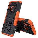 Чехол Yotrix Shockproof case для Huawei P20 lite (оранжевый, пластиковый)
