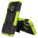 Чехол Yotrix Shockproof case для Huawei P20 lite (зеленый, пластиковый)