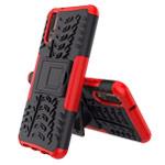 Чехол Yotrix Shockproof case для Huawei P20 (красный, пластиковый)