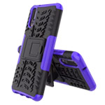 Чехол Yotrix Shockproof case для Huawei P20 (фиолетовый, пластиковый)