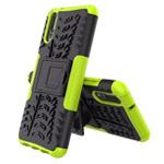 Чехол Yotrix Shockproof case для Huawei P20 (зеленый, пластиковый)