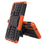 Чехол Yotrix Shockproof case для Huawei P20 (оранжевый, пластиковый)