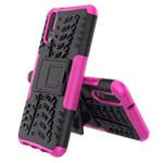 Чехол Yotrix Shockproof case для Huawei P20 (розовый, пластиковый)